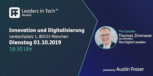 Leaders in Tech | Munich - Innovation und Digitalisierung