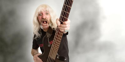 Derek Smalls - Formerly of the band formerly known as Spinal Tap