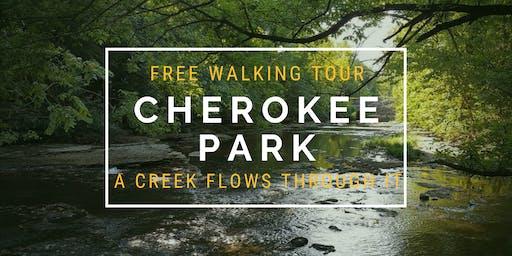 Free Walking Tour - A Creek Flows Through It