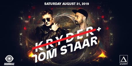 Kryder + Tom Staar tickets