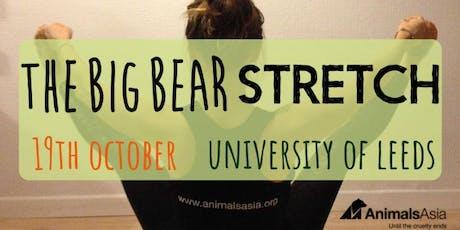 Animals Asia Big Bear Stretch Leeds 2019 tickets