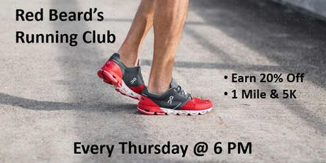 Red Beard's Run Club tickets