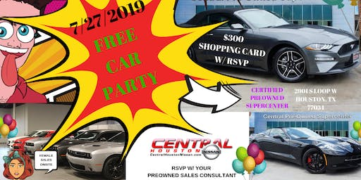 FREE CAR PARTY