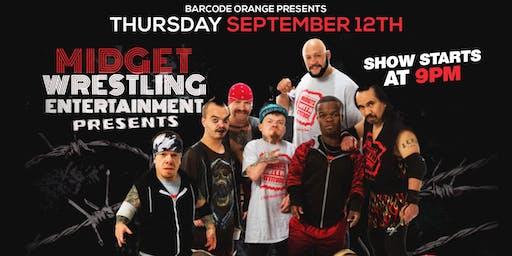 Midgets With Attitude Wrestling Show at BarCode Orange