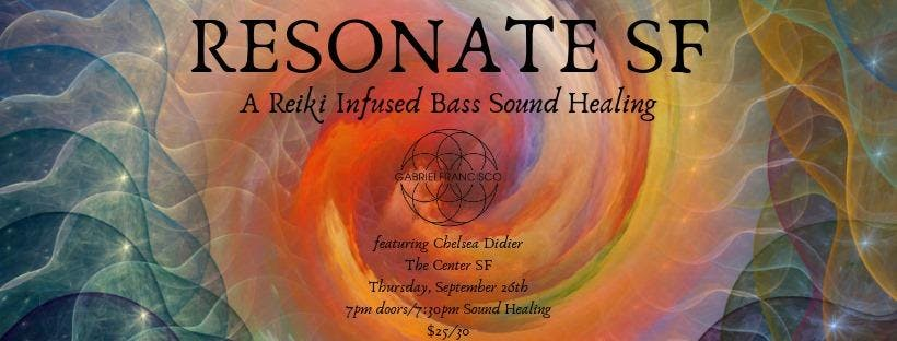 Resonate SF: A Reiki Infused Bass Sound Bath Meditation at The