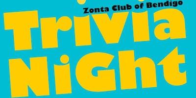 Zonta Bendigo Trivia Night