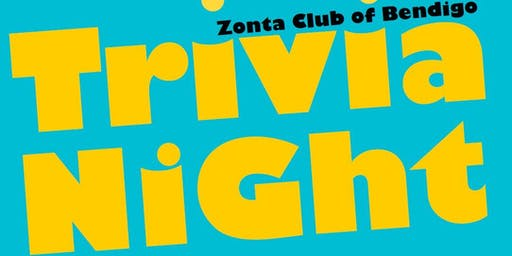Zonta Bendigo Trivia Night