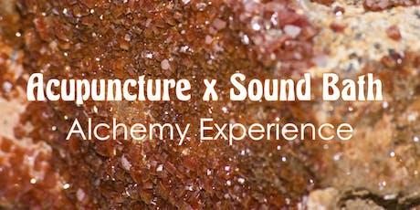 Acupuncture x Sound Bath Alchemy Experience tickets
