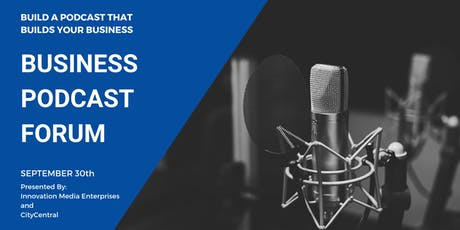 Business Podcast Forum tickets