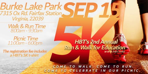 HBT's 2nd Annual 5K Walk/Run