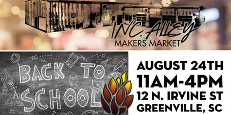 Inc. Alley's 1st Quarterly Market & Fireforge Back-2-School Event tickets