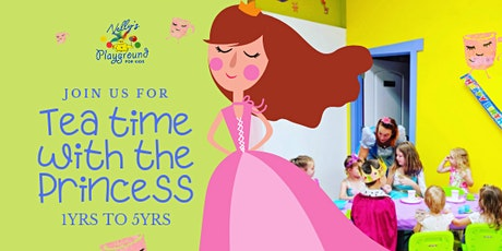 Thursday Tea Time with the Princess  tickets