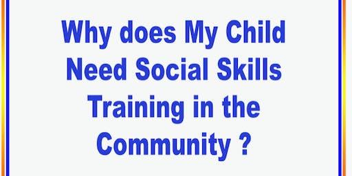 Social Skills Parent/Educator Workshop & Childcare