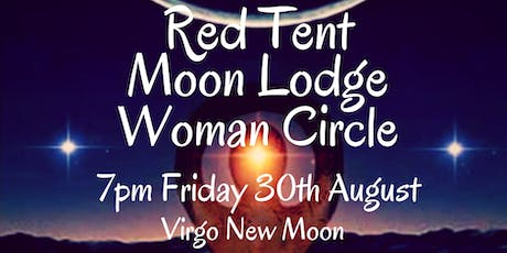 August Black Moon Red Tent Moon Lodge Woman Circle tickets