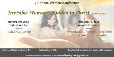 2019 Women of Destiny Conference