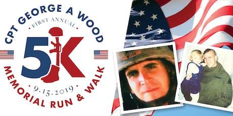 CPT George A Wood Memorial 5K Run/Walk tickets
