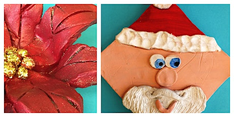 Christmas Clay Class Homeschool Workshop (5-12 Years) tickets