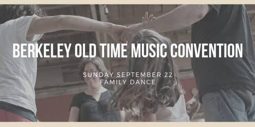 Berkeley Old Time Music Convention FAMILY DANCE