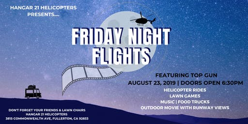 Friday Night Flights featuring Top Gun