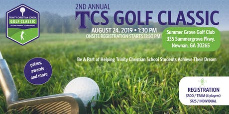 Trinity Christian School 2019 Golf Classic tickets
