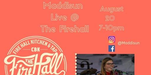 Maddisun Live at The Firehall