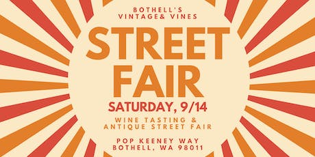 Bothell's Vintage and Vines Street Fair tickets