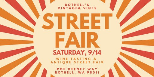 Bothell's Vintage and Vines Street Fair