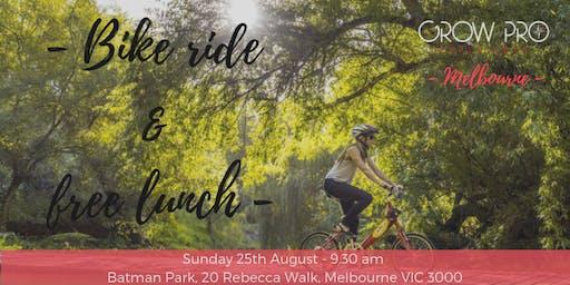 MELBOURNE | Bike & Free lunch