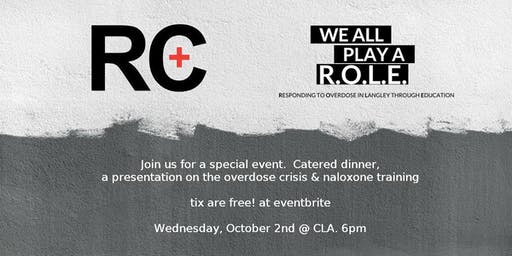 RC Overdose Response Dinner & Training