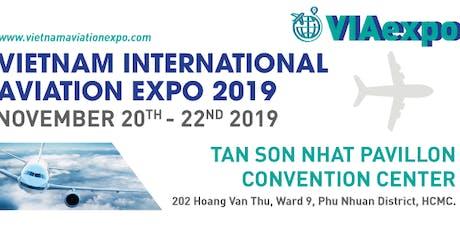 VIETNAM INTERNATIONAL AVIATION EXPO - VIAexpo 2019 tickets
