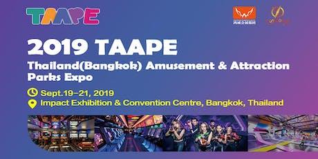 Thailand (Bangkok) Amusement & Attraction Parks Expo tickets