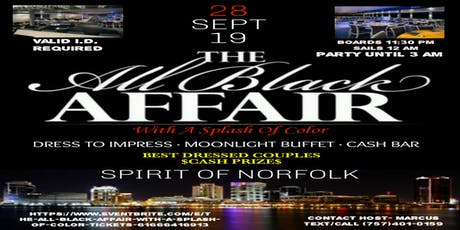 The All Black Affair With A Splash Of Color tickets