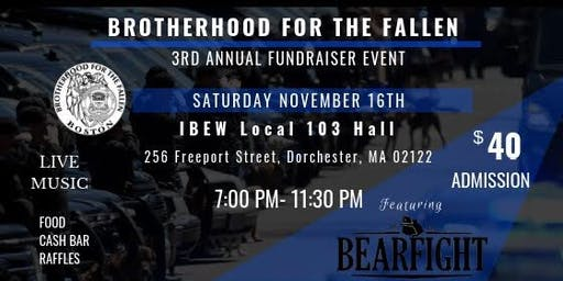 Brotherhood for the Fallen Third Annual Fall Fundraiser
