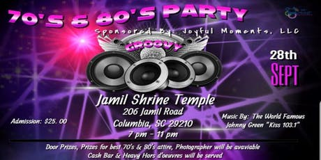 70's & 80's Party tickets