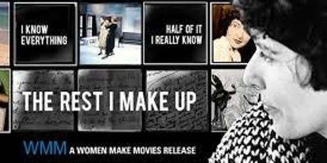 THE REST I MAKE UP - Documentary tickets