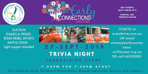 TRIVIA NIGHT - Early Connections - Coffs Coast