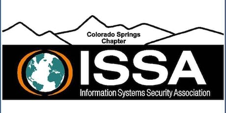 ISSA-COS August Dinner Meeting (5:30-7:30) tickets