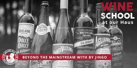 Adelaide Hills Wine Appreciation School - BEYOND THE MAINSTREAM: BY JINGO tickets