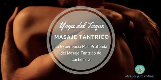 """Experiencia Vivencial en Masaje Tantrico """"Yoga del Toque"""""""