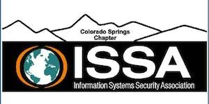 ISSA-COS Mini-Seminar, August 2019