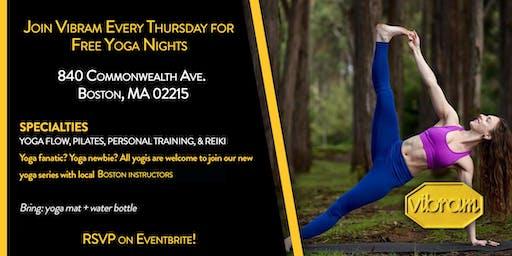 Thursday Yoga Nights