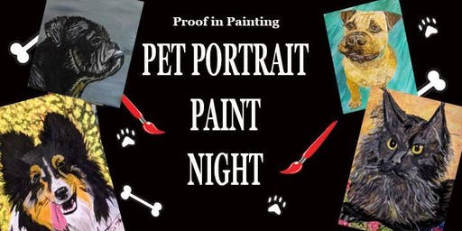 SOLD OUT Seaside - Pet Portrait Paint Night 21+
