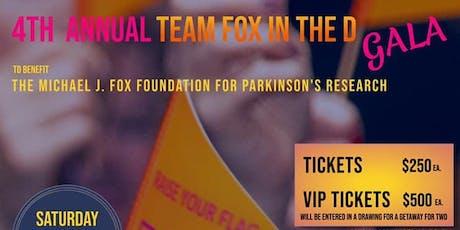 4th Annual Team Fox in the D Gala tickets