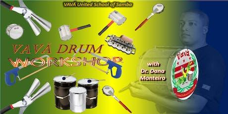 Vava Bateria (Drum) Summer Workshop 2019 tickets