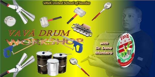 Vava Bateria (Drum) Summer Workshop 2019