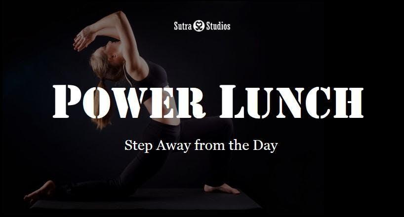 Power Lunch Yoga   Sutra Roosevelt Phoenix