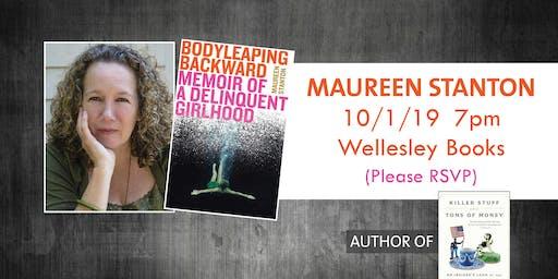 "Maureen Stanton presents ""Body Leaping Backward"""