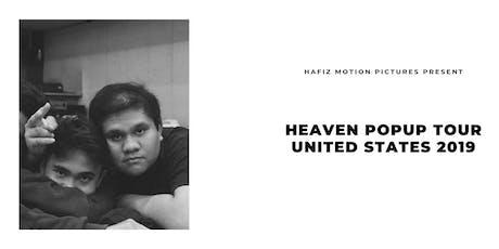 Heaven Popup Tour San Fransisco 2019 tickets