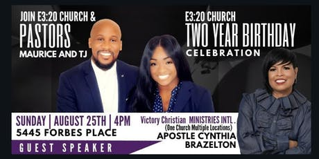 E3:20 Church 2nd Birthday Celebration  tickets