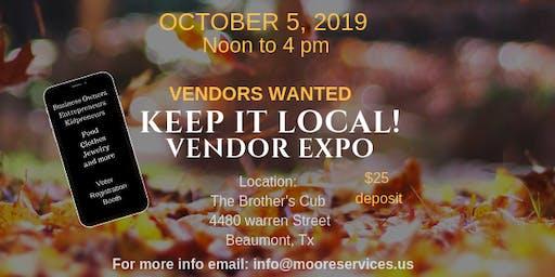 Keep it Local! Vendor Expo